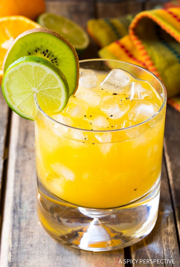 killer bee cocktail, fun cocktail