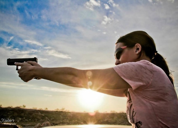 Ladies Only - 1/2 Day Basic Pistol