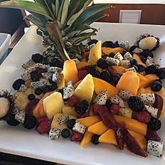 FRESH FRUITS AND YOGURT