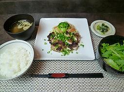 ◎鶏の鉄板焼ランチ.JPG