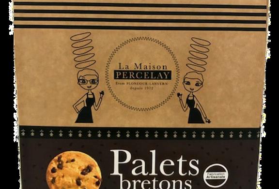 Palets breton pur beurre aux Pépites de Chocolat Noir Valrhona