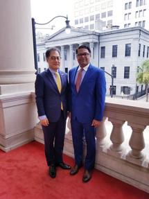 Farooq Mughal with Korean Consul General