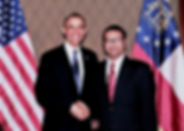 Farooq Mughal with President Obama.jpg