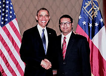 Farooq Mughal with President Obama.jpg