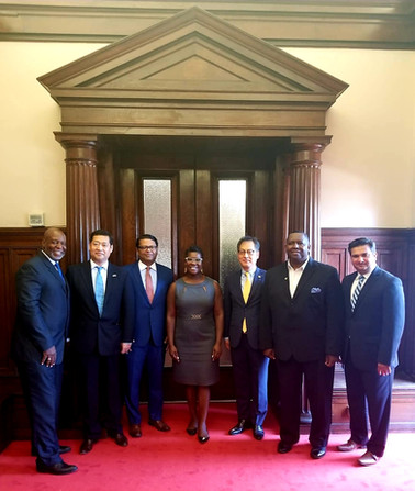 City of Savannah & Foreign Delegates