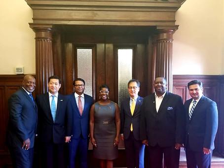 Farooq Mughal Hosted Korean Consul General In Savannah