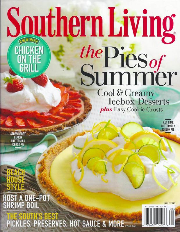 Lemon Mango Buttermilk Cream Icebox Pie with Baked Saltine Cracker Crust