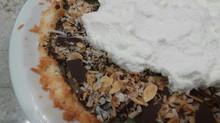 Coconut Cream Pie with Macaroon Crust