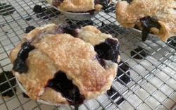 Mixed Berry Cutie Pies