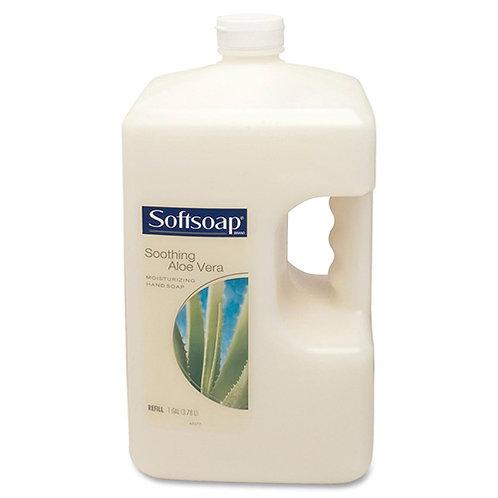 Softsoap Liquid Soap Hand, Skin - White - Moisturizing, Rich Lather - 4 / Carton