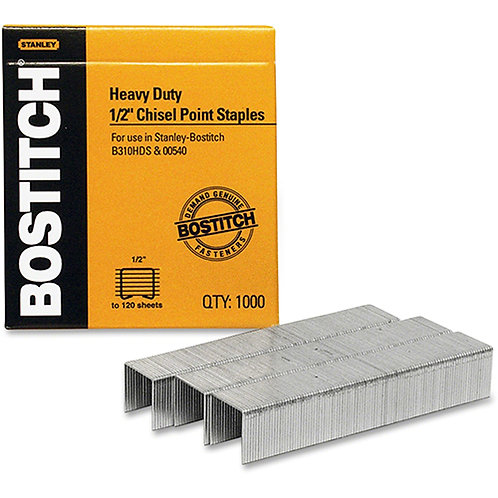 Bostitch SB351/2-1M Heavy Duty Premium Staples