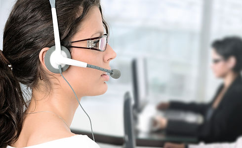 Women working as Virtual Receptionist.