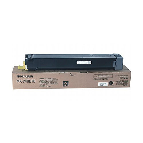 Sharp MX-C40NTB Toner Cartridge Genuine, Black