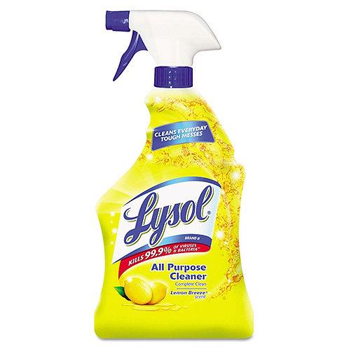 Lysol All-Purpose Cleaner Spray - (32 fl oz) - Lemon Breeze Scent - 1 Each