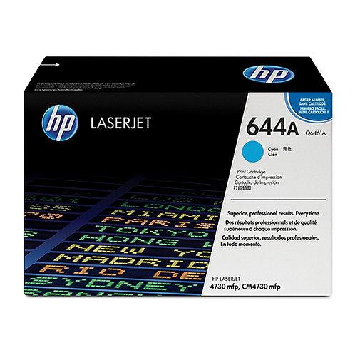 HP 644A Toner Cartridge Genuine, Cyan