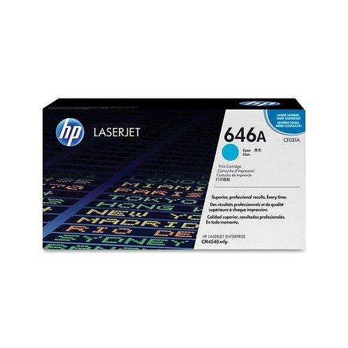 HP 646A Toner Cartridge Genuine, Cyan