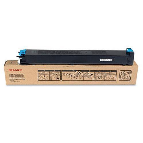 Sharp MX-27NTCAC Toner Cartridge Remanufactured, Cyan