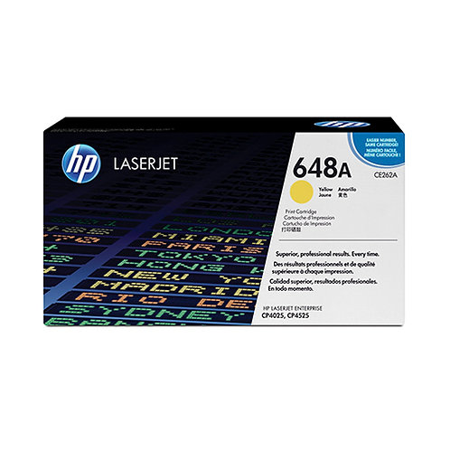 HP 648A Toner Cartridge Genuine, Yellow