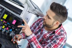 Printer repair technician