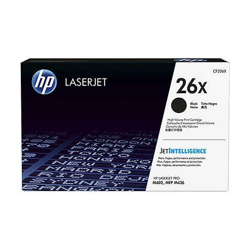 HP 26X Toner Cartridge Genuine, Black
