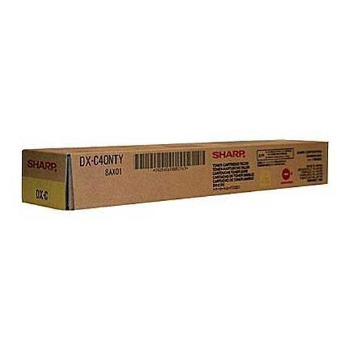 Sharp DX-C40NTY Toner Cartridge Genuine, Yellow