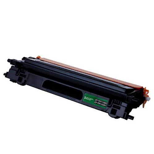 Brother TN115BK Toner Cartridge Remanufactured, Black