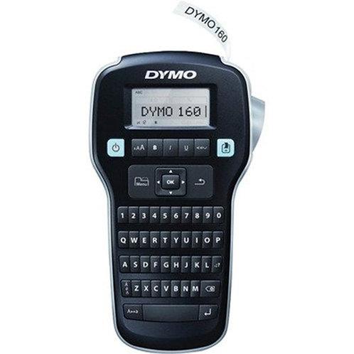 Dymo LabelManager 160 Label Maker, 2 Lines, 6-3/10w x 6-1/10d x 2-1/2h