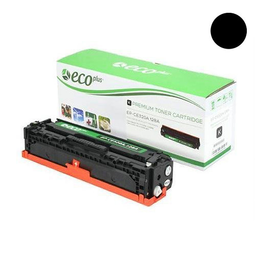 HP 128A Toner Cartridge Remanufactured, Black