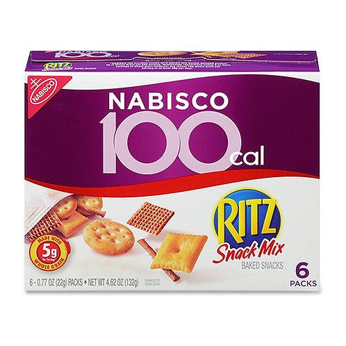 Nabisco Ritz Baked Smart Mix Cholesterol-free - 0.77 oz - 6 / Box