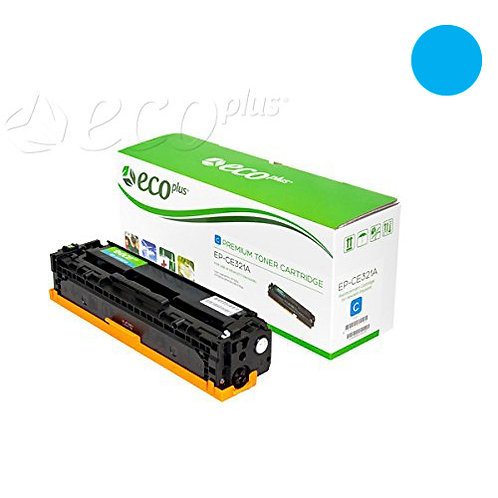 HP 128A Toner Cartridge Remanufactured, Cyan