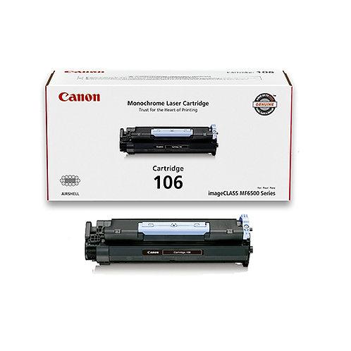 Canon 106 Toner Cartridge Genuine, Black