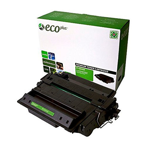 HP 55X Toner Cartridge Remanufactured, Black