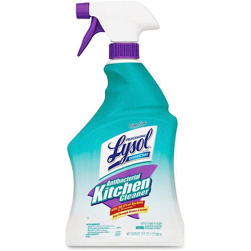 LYSOL Brand Antibacterial Kitchen Cleaner - 0.25 gal - 12/Carton