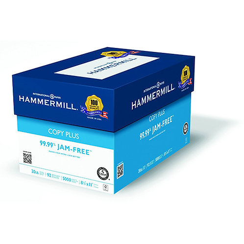 Hammermill 8.5 X 11 multipurpose 20 lbs Copy Paper 5000 sheets