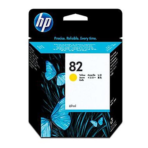 HP 82 69-ml Yellow DesignJet Ink Cartridge
