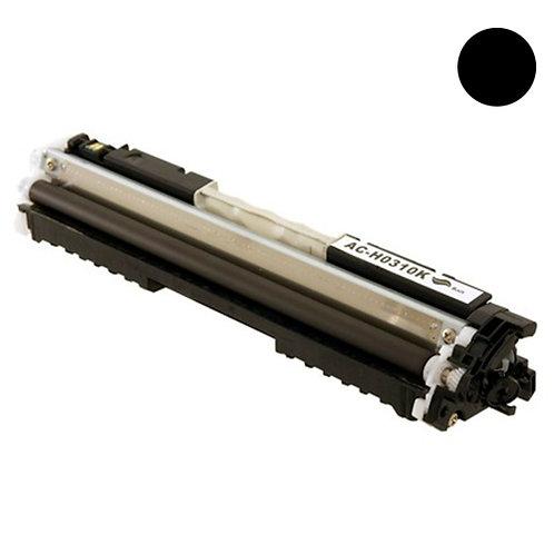 HP 126A Toner Cartridge Remanufactured, Black