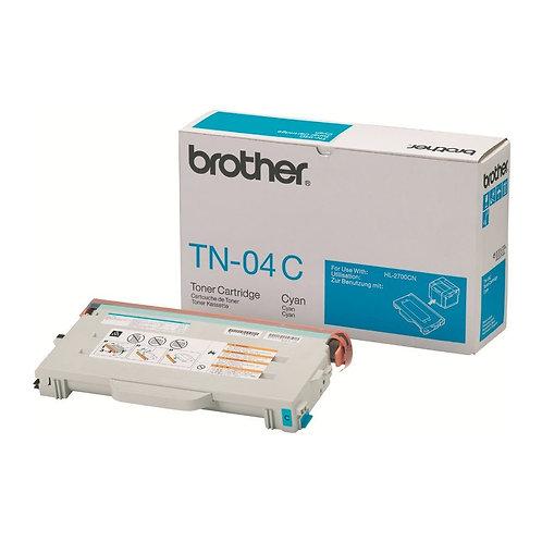 Brother TN-04C Toner Cartridge Genuine, Cyan