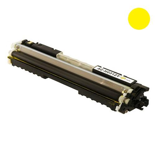 HP 126A Toner Cartridge Remanufactured, Yellow