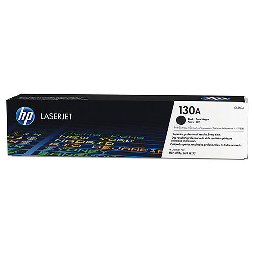 HP 130A Toner Cartridge Genuine, Black