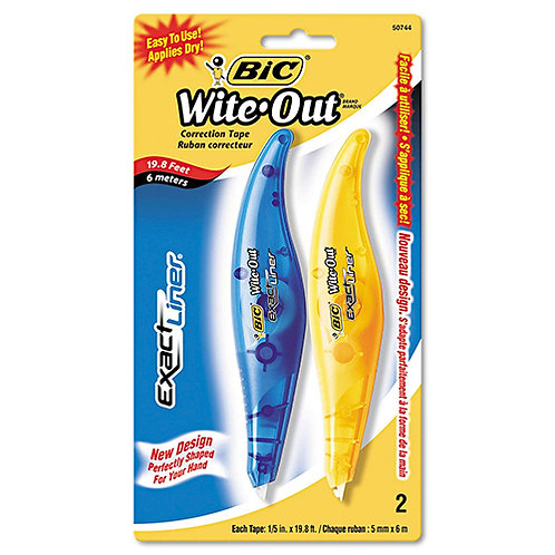 BIC Wite-Out Exact Liner Correction Tape Pen 0.20