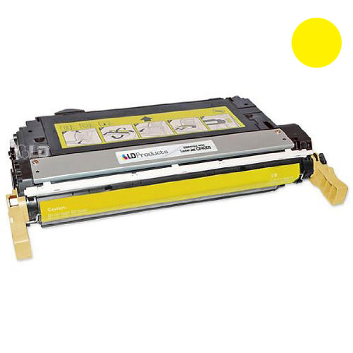 HP 642A Toner Cartridge Remanufactured, Yellow