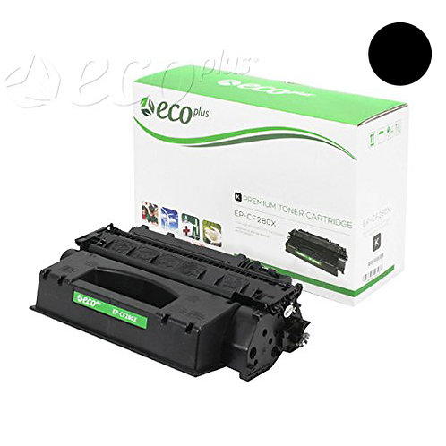 HP 80X Toner Cartridge Remanufactured, Black