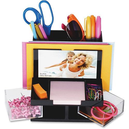 OIC VersaPlus Functional Desk Organizer 9 Compartment(s) - 5.5