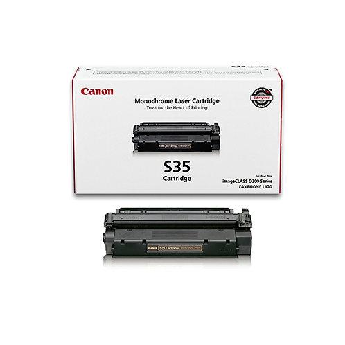 Canon S35 Toner Cartridge Genuine, Black