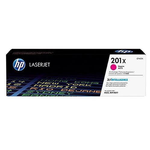 HP 201X Toner Cartridge Genuine, Magenta