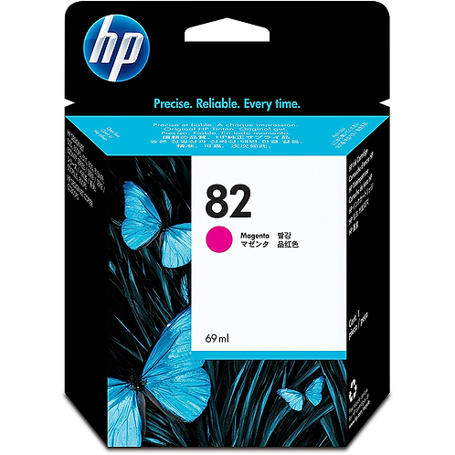 HP 82 69-ml Magenta DesignJet Ink Cartridge