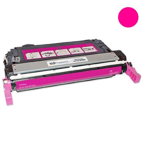 HP 642A Toner Cartridge Remanufactured, Magenta