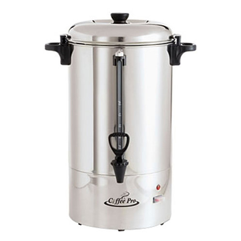 Coffee Pro Percolating Urn 80 Cup(s) - Stainless Steel