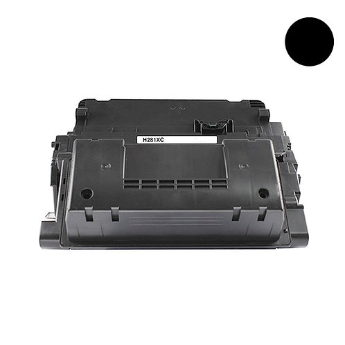 HP 81X Toner Cartridge Remanufactured, Black