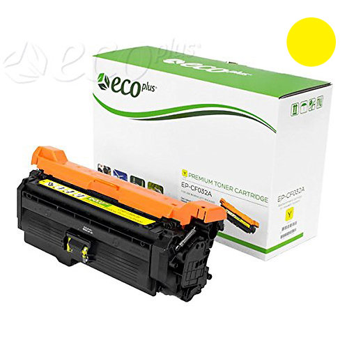 HP 646A Toner Cartridge Remanufactured, Yellow